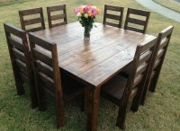 Farm table design ideas  beautiful solid wood dining tables