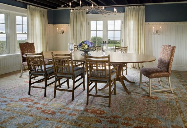 Oushak rugs  the beauty of the Orient in home interior design