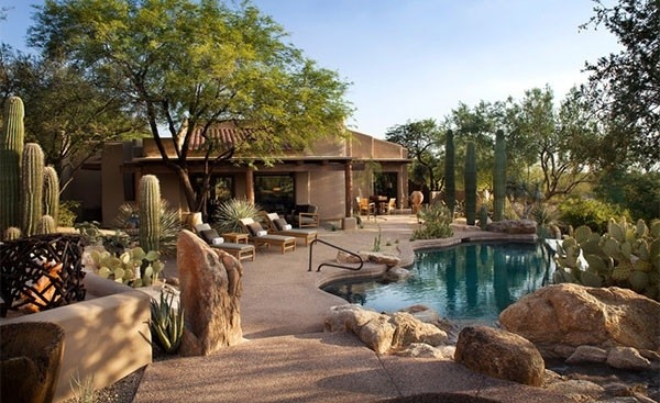 Desert landscaping ideas  basic rules to design a great