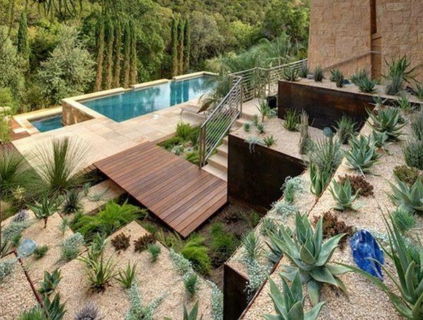 desert landscaping ideas basic