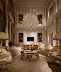 Drawing room design ideas - classic and modern interiors