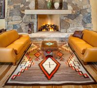 Navajo rugs  add a native American touch to your interior ...