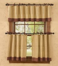 Primitive curtains ideas  the charm of casual visual