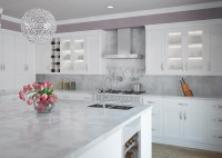 White shaker cabinets  the hottest trend in kitchen design