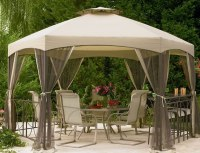 Gazebo canopy ideas  awesome outdoor living space designs