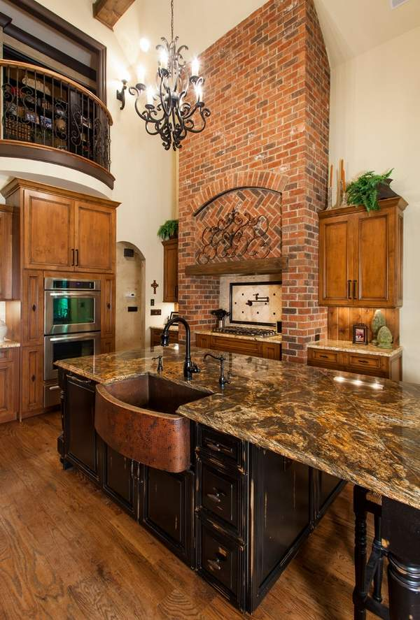 rustic kitchen sink black sinks copper design ideas for modern or interiors