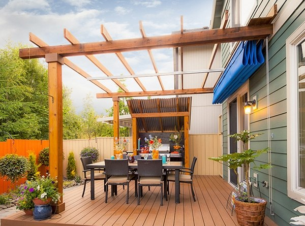Deck Shade Ideas