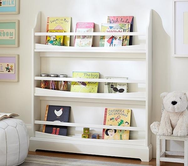 Forward Facing Bookshelf Ideas Cool Kids Room Furniture