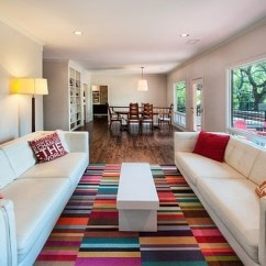 Living Room Floor Ideas Red Rug In Affordable Flooring Top 6 Cheap Options Colorul Carpet Tile
