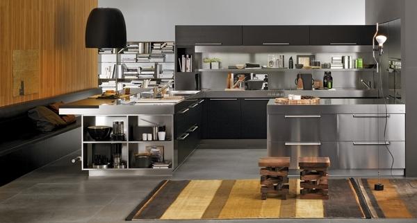 Italian kitchen cabinets  modern and ergonomic kitchen