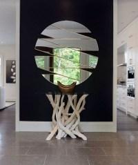 Contemporary wall mirrors  unique wall decoration ideas