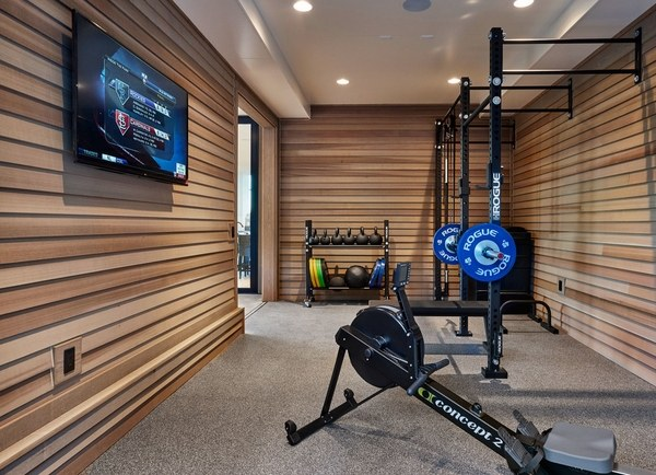Garage gym design ideas  cool home fitness ideas