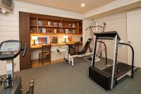 Garage gym design ideas  cool home fitness ideas