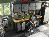 Garage cabinets  how to choose the best garage storage ...