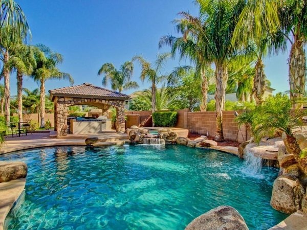Tropical pools  beautiful and exotic landscape ideas