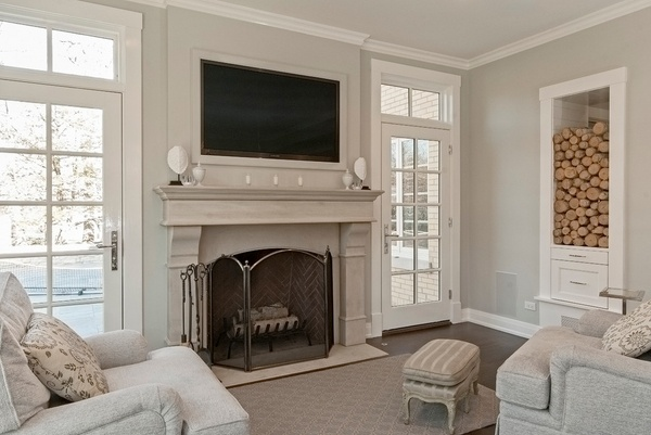 TV frame ideas  frame your TV and blend it in the home