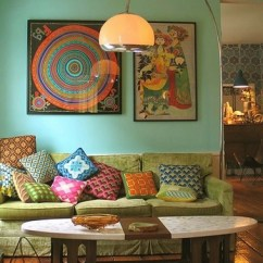 Bohemian Living Room Wall Ideas Upholstered Chairs Boho Decor How To Create Chic Interiors