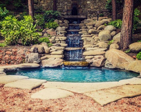 diy pond filter design garden