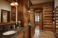 Log cabin interiors  beautiful rustic design and ...