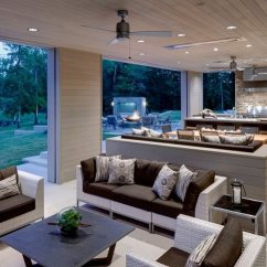 Outdoor Kitchen Patio Ideas How To Install Backsplash Cabinets And Furniture For The Design