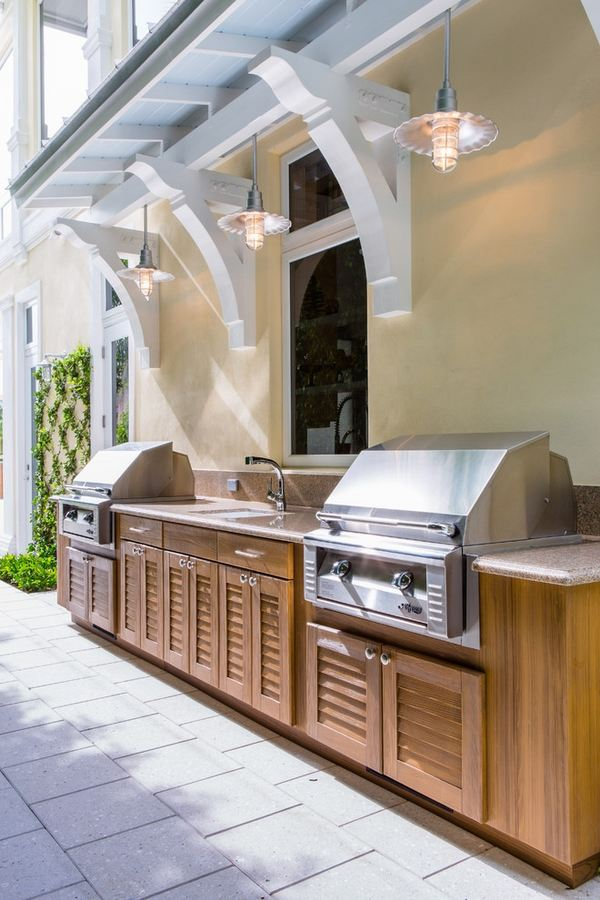 Outdoor Kitchen Cabinets And Furniture Ideas For The Patio