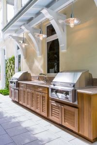 Outdoor kitchen cabinets and furniture ideas for the patio ...
