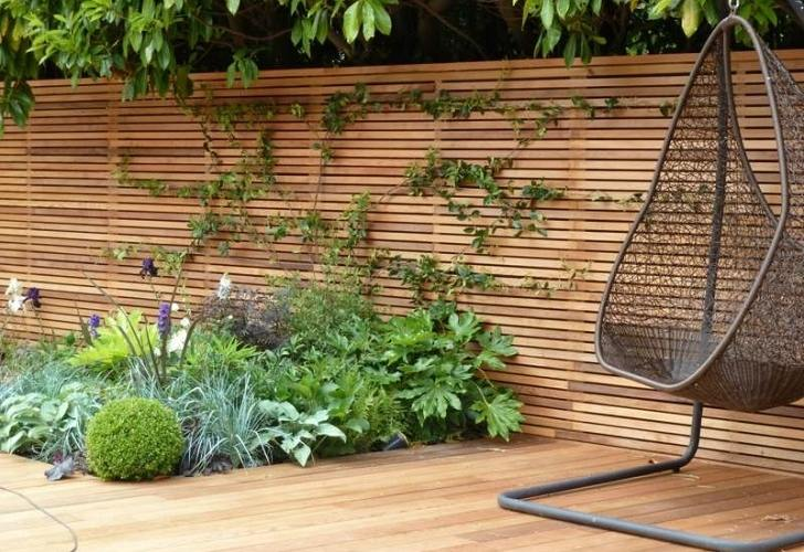 Horizontal Fence Panels – Modern Garden Fence Design Ideas