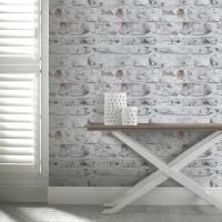 How to whitewash brick walls  striking white brick wall ideas