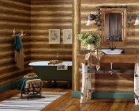 Log cabin decor ideas  log house home decorations and ...