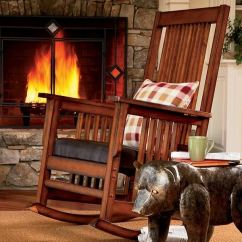 Wrought Iron Rocking Chair Balance Ball Tall Person Log Cabin Decor Ideas – House Home Decorations And Accessories