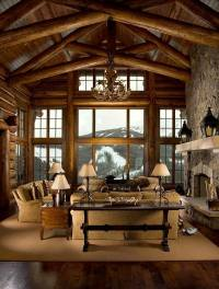 Log cabin furniture ideas  how to choose the right pieces?