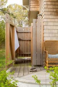 Outdoor shower enclosure ideas  fantastic showers for ...
