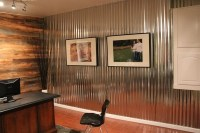Corrugated metal in interior design  creative ideas for