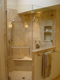 Modern shower enclosures  contemporary bathroom design ideas