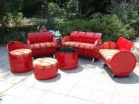 Metal craft - DIY oil drum furniture ideas and creative ...