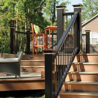 Deck balusters  types, materials, design styles and ...