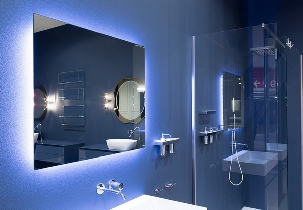 Backlit Mirror Design Ideas