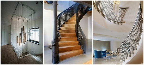 Metal Railing Ideas – Exclusive Staircase Designs For Your Home | Staircase Railing Designs For Your Home | Contemporary | Extraordinary | Country Home Interior | Eye Catching | Covered