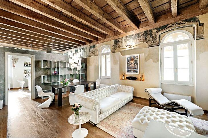 Ceiling Beams In Interior Design