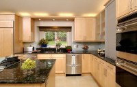 Maple cabinets  a good choice for elegant and modern ...