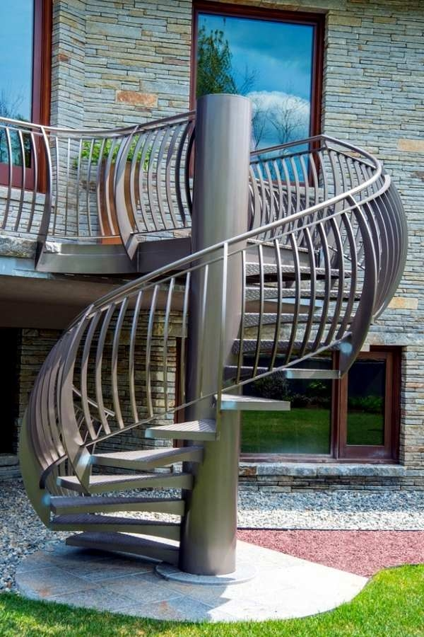 Metal Stairs – Advantages Disadvantages Styles And Designs   Outdoor Steel Staircase Design   Wrought Iron   Light   Stainless Steel   Industrial   Wood