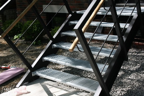 Metal Stairs Advantages Disadvantages Styles And Designs