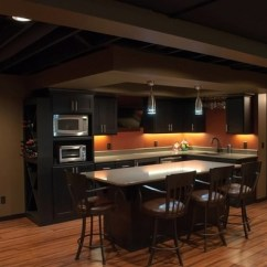 Cheap Unfinished Kitchen Cabinets Round Marble Top Table Basement Ceiling Ideas – How To Convert Your Into ...