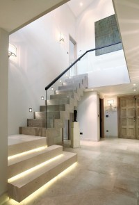 Trendy interior stair lights  modern stair lighting solutions