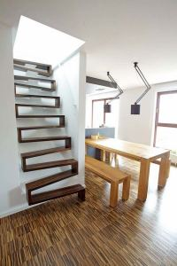 Attic stairs design ideas  pros and cons of different types