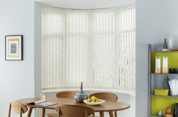 Bay window blinds ideas  how to dress up your bay window