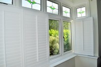 Bay window shutters  effective sun and privacy protection ...