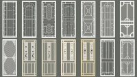 Decorative screen doors  add a personal touch to your ...