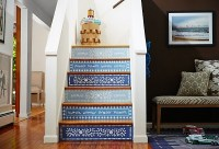 Decorative stair risers  make a statement with your ...