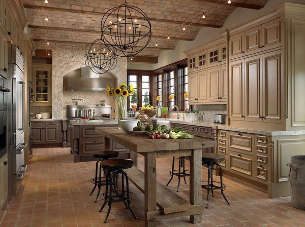 Country Style Kitchen Colors